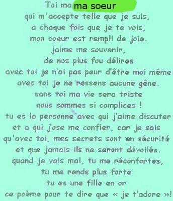 Pour Ma Soeur Blog De Aurelia694