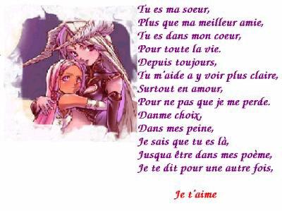 Pour Ma Soeur Que J Aime Blog De Aurelia694