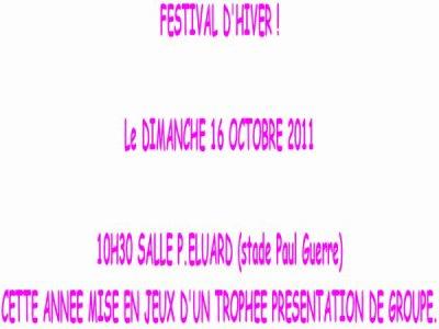 Festiival Octobre 2011 des Newdances de Billy-Montigny