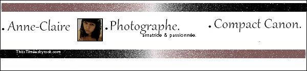 ~ . La photographie , plus qu'une passion .. une joie de vivre ♥