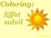 Tuto: Coloring effet soleil.