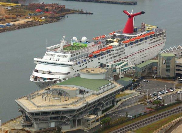 Galveston Cruise Parking Lot