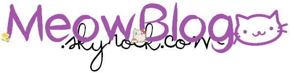 Catégorie : Félin ~ Pseudo & Titre : MeowBlog