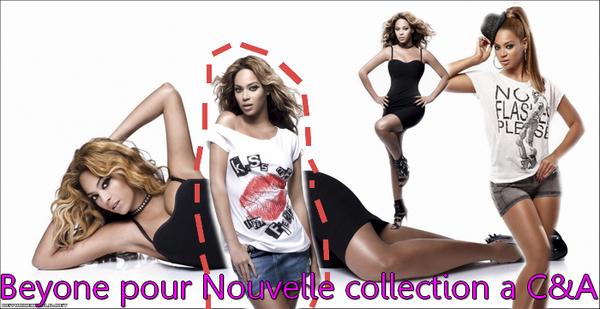 Beyonce a fait un nouveau photoshoot SUPERBE pour sa collection a C&A !
