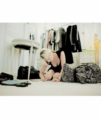 Kate Moss crée ses sacs Longchamp