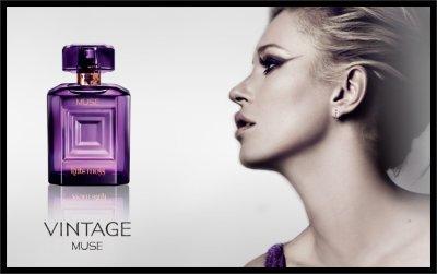 Kate Moss Muse Vintage pour son parfum