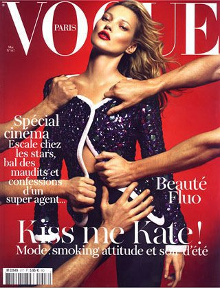 Kate Moss pour le VOGUE Paris