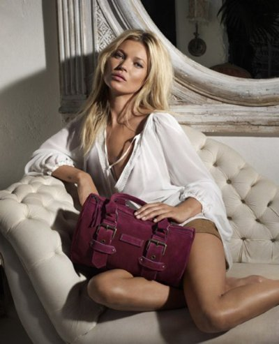 Kate Moss pour Longchamp Collection 2011-2012