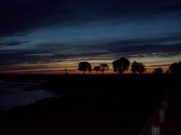 coucher  et levé de soleil