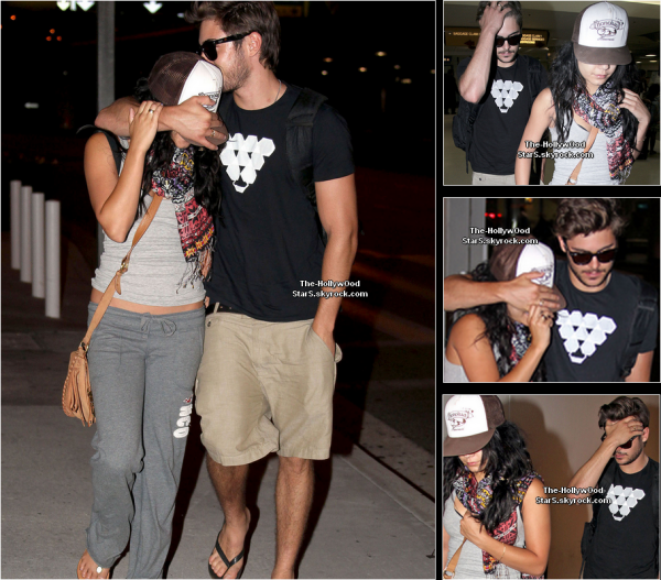 Candids     28 Aout 2010          ↝ 25/08/10 Zac et Vanessa font du kayak  PHOTO     ↝  25/08/10 Zac et Vanessa quittent Hawaii PHOTO         ↝ 25/08/10 Zac et Vanessa à LAX  PHOTO