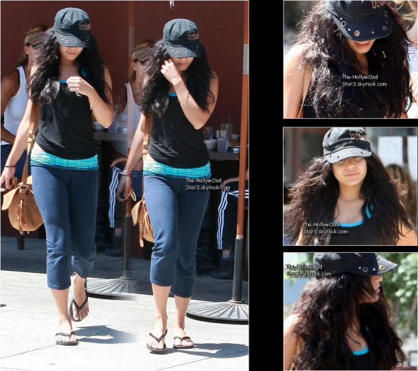 Candids     29 Aout 2010          ↝ 27/08/10 Vanessa ce promenant dans Studio City   PHOTO