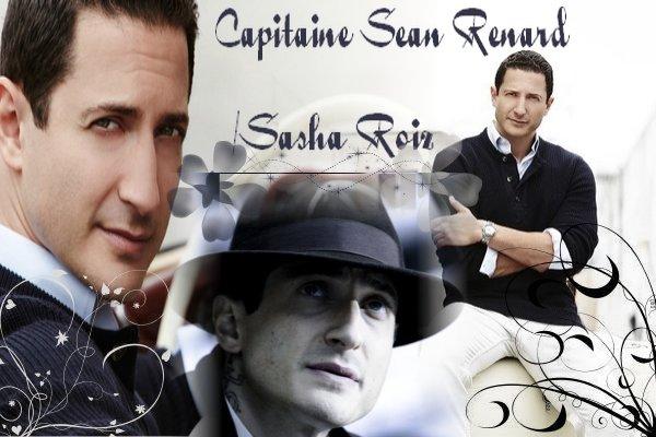 Capitaine Sean Renard/Sasha Roiz Créa by § Déco by §