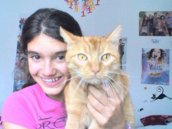 Mon chat minou