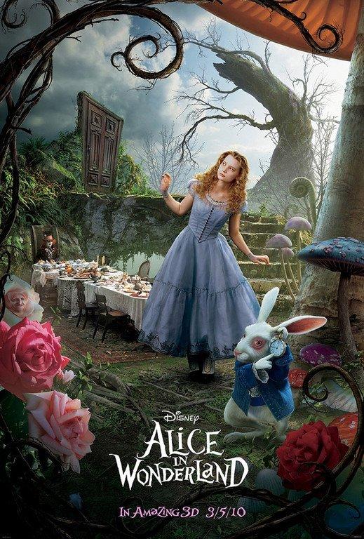 Alice aux pays des merveilles tim burton