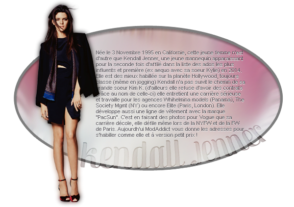 Fiche : Kendall Jenner