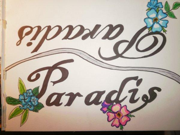 Mon dessin, PARADIS...