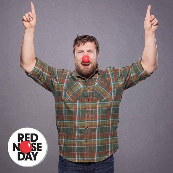 oui. Aujourd'hui c'est #rednoseday ! On se réunit pour mettre fin à la pauvreté des enfants, un nez à la fois ! #Noseson Rednoseday.org