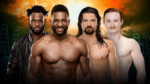 Tag Team Match annoncé pour TLC  Cedric Alexander et Rich Swann vs Gentleman Jack Gallagher et The Brian Kendrick est annoncé par la WWE pour TLC.
