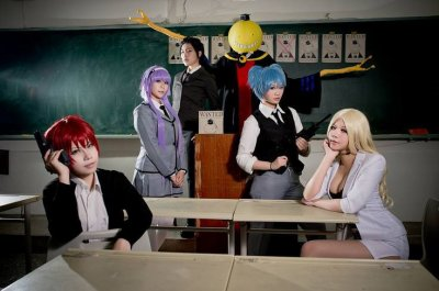 Cosplay assassination classeroom