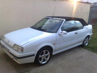 mon R19 cabriolet