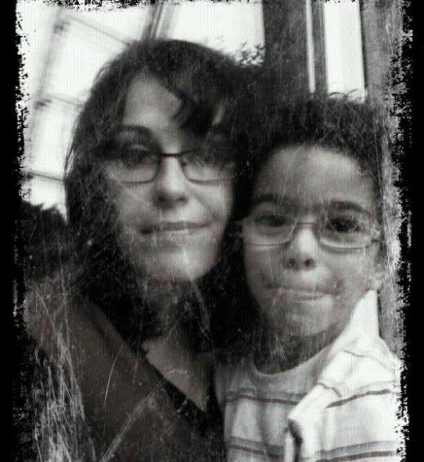Mathys et maman