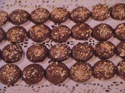 حلوى النيسكافي والشوكولا