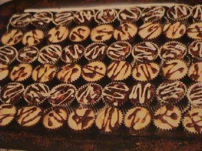 حلوى اللوز و الشكلاط