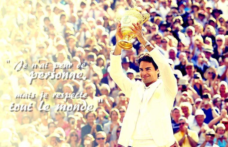 Respect Roger Federer