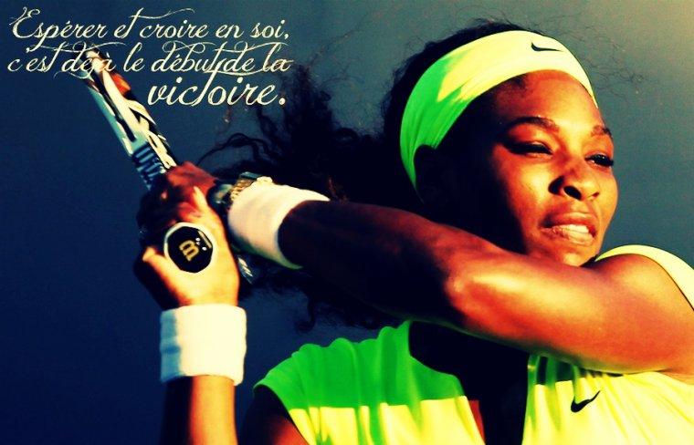 Espoir Serena Williams