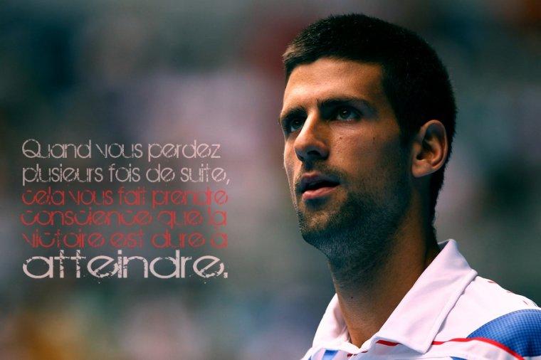 Talent Novak Djokovic