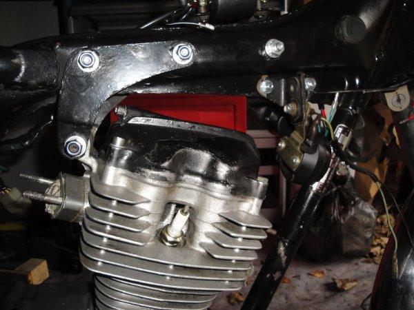 Repose du moteur