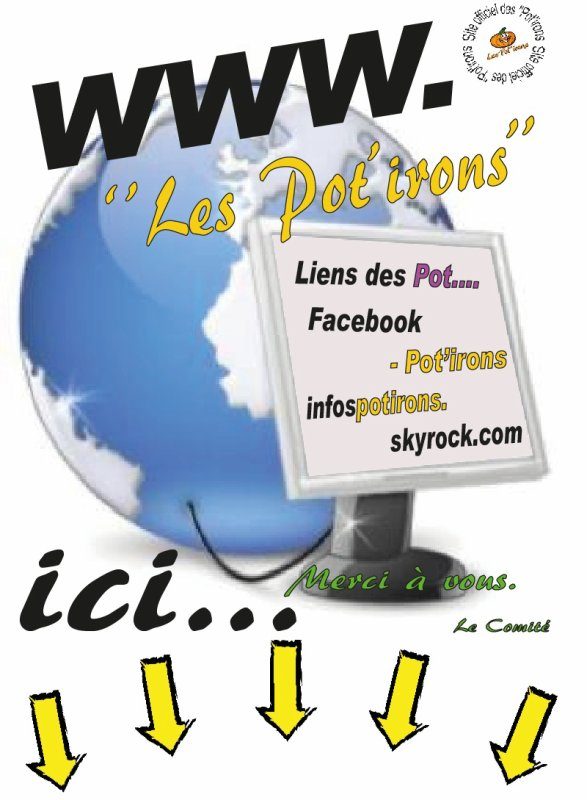 "***** Site officiel des ""Pot'irons de Pont-à-Celles ******"