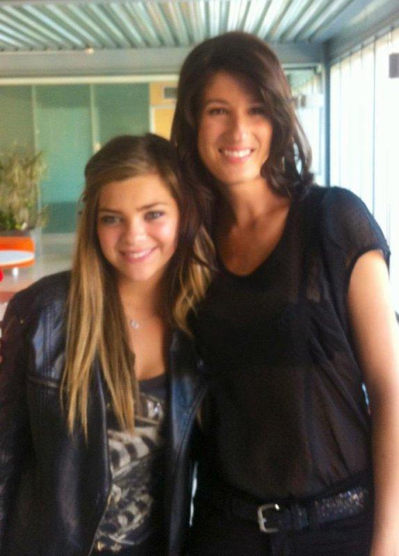 Première rencontre: Caroline Costa (Bedelia) et Stéphanie Bédard (Marianne) !