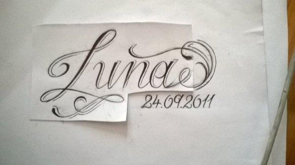 Modèle de mon tatouage :)