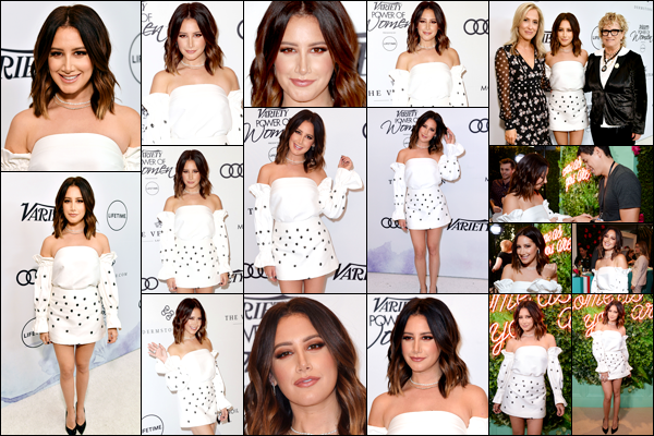 . 13.10.17 : Ashley Tisdale a assisté au Variety's Power of Women au Beverly Wilshire Four Seasons Hotel - CA. .