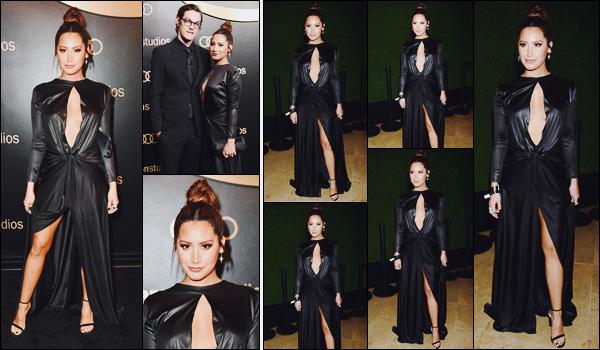 . 07.01.18 : Ashley était à l'After Party des « Golden Globes » d'InStyle et de Warner Brothers à Beverly Hills. Premier événement de l'année ! Tizzie était accompagnée de son mari. J'adore sa robe, elle est juste sublime dedans, un énorme top !  .
