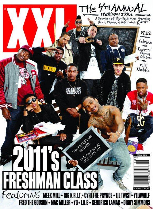Diggy fait la couverture du magazine XXL en compagnie de LilTwist. Il a d'ailleurs été félicité sur Twitter par Kenny Hamilton .