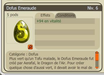 Achat du Dofus Emeraude !