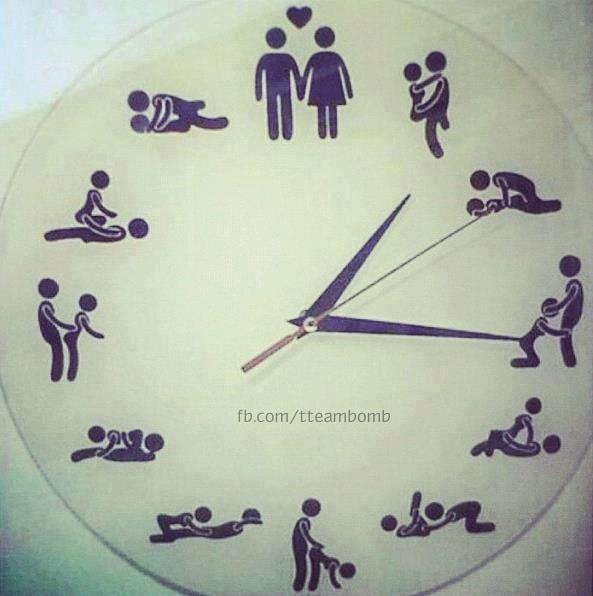 round the clock...