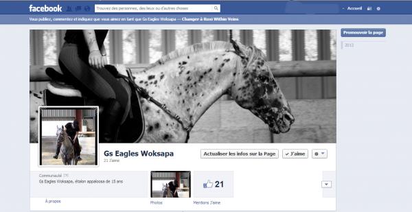 """"""" Rejoignez-nous sur Facebook ! """""""