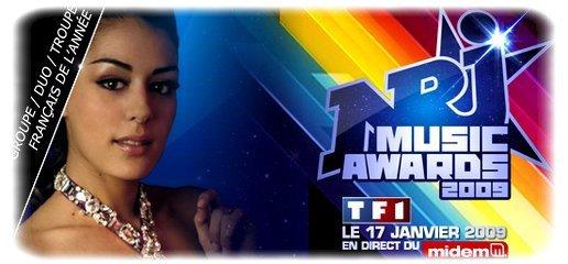 Nrj Music Awards 2009: Votez pour Cléopâtre!!!!