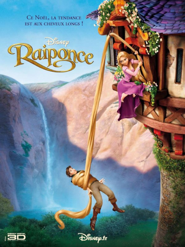 FILM -RAIPONCE DE DISNEY