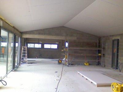 Plafond rampant en placo blog de padeco - Habiller un plafond abime ...