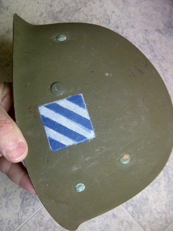 US 3 Div helmet M1