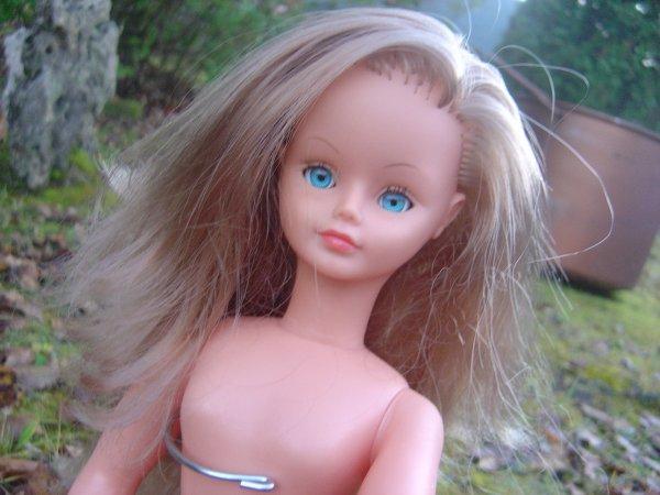 bonsoir tout le monde : une petite merveille à vendre ! cheveux fragiles cependant !!! sinon elle est  MAGIQUE !!!! attention les cheveux sont moins longs que sur la photo car je n'avais pas rattaché la mèche quand j'ai pris la photo !!!