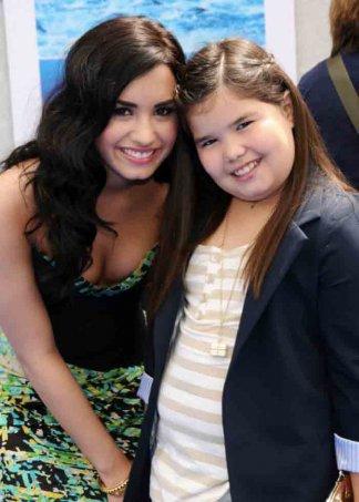 Demi et sa petite soeur :)