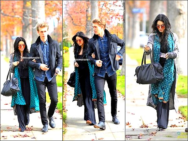 23/12/2012 : Vanessa et son boyfriend appérçuent allant a une féte Top/Flop ? .