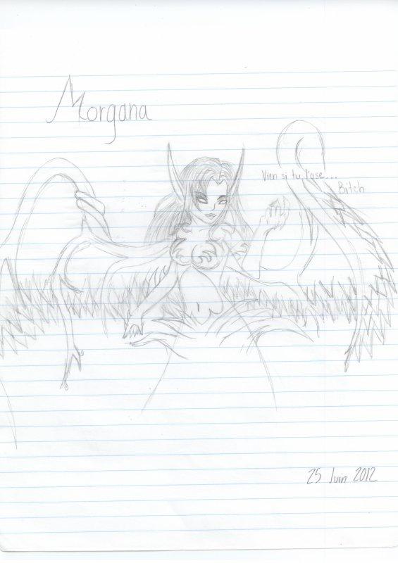League of Legends, Morgana, ange déchu