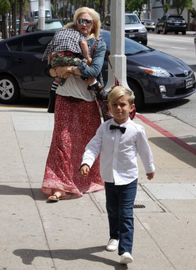 Gwen Stephani ( Leur Maman ) Zuma et Kingston Rossdale ♥