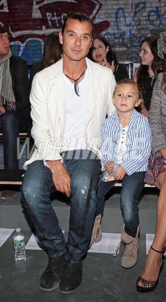 Kingston et Gavin Rossdale (Son Papa )